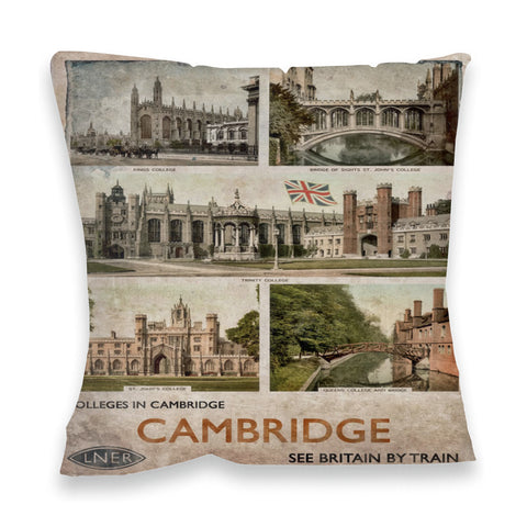 Cambridge Colleges Fibre Filled Cushion