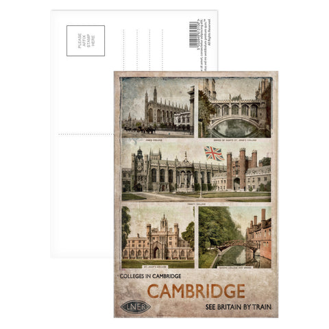 Cambridge Colleges Postcard Pack