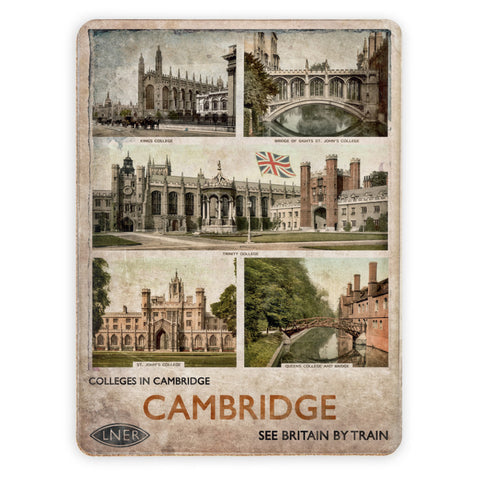 Cambridge Colleges Placemat