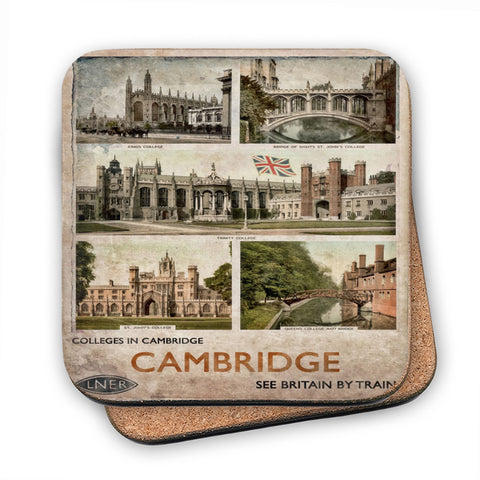 Cambridge Colleges MDF Coaster