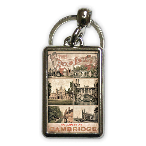 Cambridge Colleges Metal Keyring