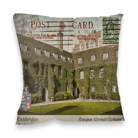 Corpus Christi College, Cambridge Fibre Filled Cushion