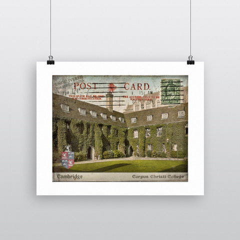 Corpus Christi College, Cambridge 90x120cm Fine Art Print