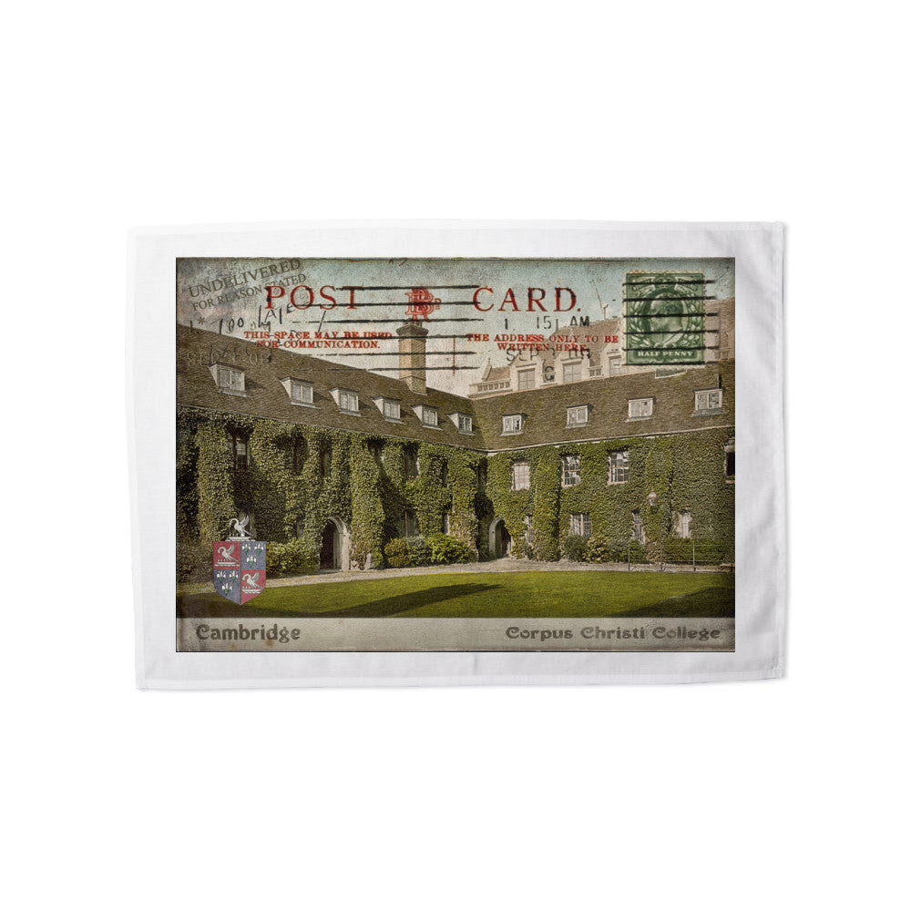 Corpus Christi College, Cambridge Tea Towel