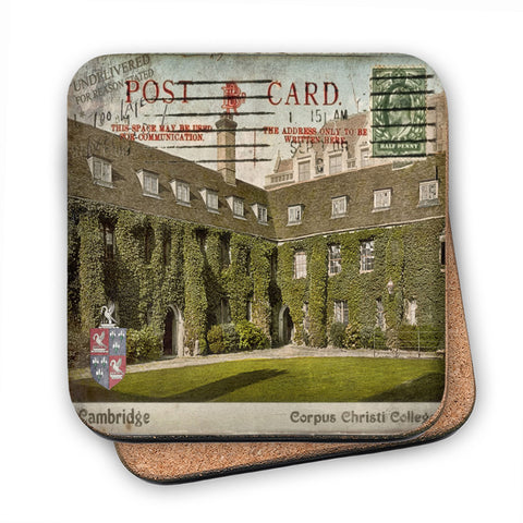 Corpus Christi College, Cambridge MDF Coaster