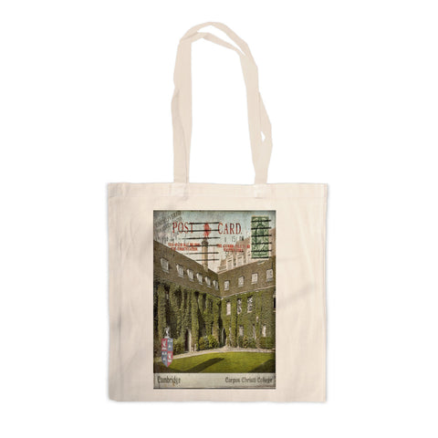 Corpus Christi College, Cambridge Canvas Tote Bag