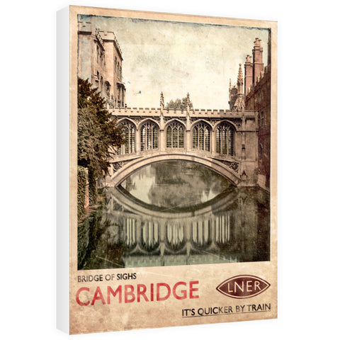 Bridge of Sighs, Cambridge 60cm x 80cm Canvas