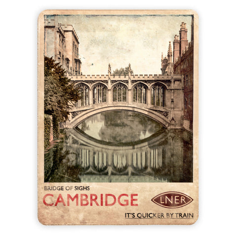 Bridge of Sighs, Cambridge Placemat