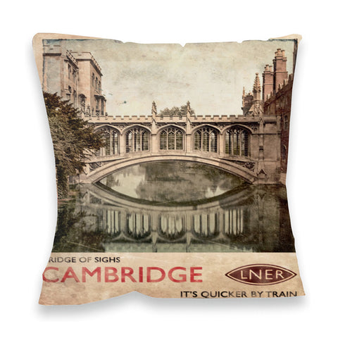 Bridge of Sighs, Cambridge Fibre Filled Cushion