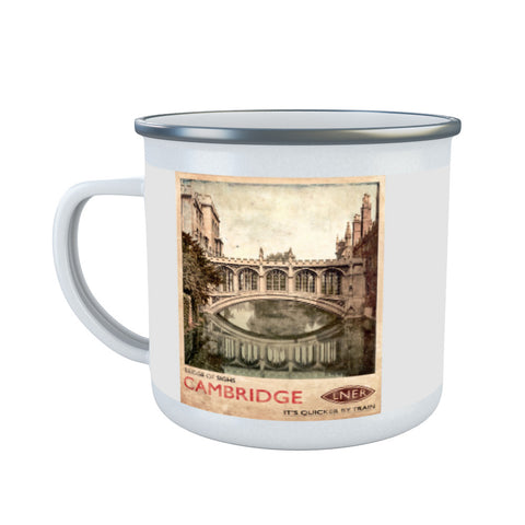 Bridge of Sighs, Cambridge Enamel Mug