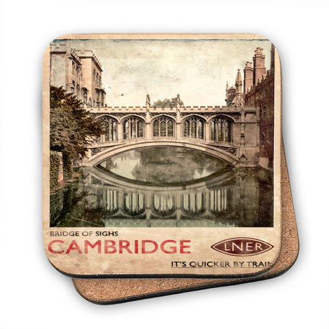 Bridge of Sighs, Cambridge MDF Coaster