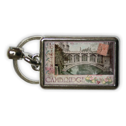 Bridge of Sighs, Cambridge Metal Keyring