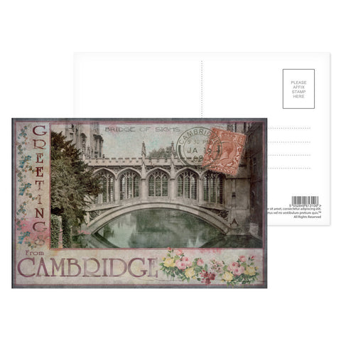 Bridge of Sighs, Cambridge Postcard Pack