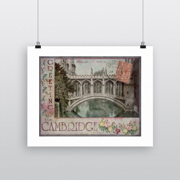 Bridge of Sighs, Cambridge 11x14 Print