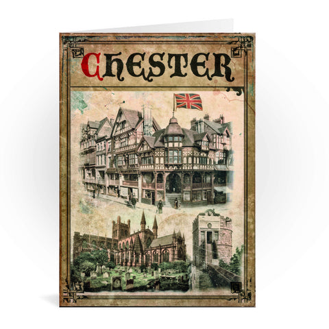 Chester Greeting Card 7x5