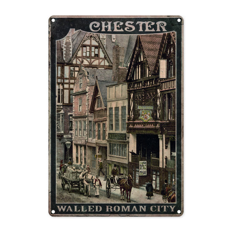 Chester Metal Sign