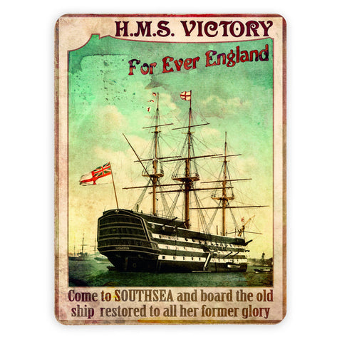 HMS Victory, Southsea Placemat