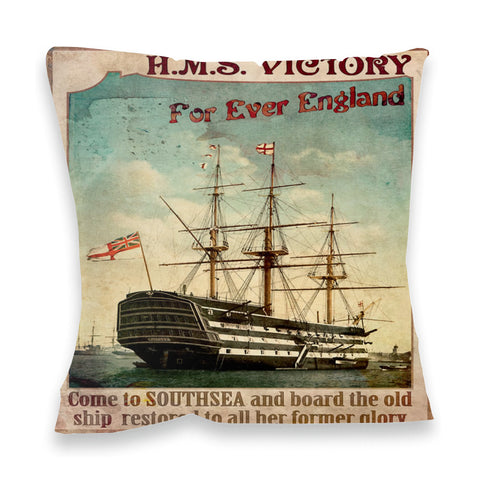 HMS Victory, Southsea Fibre Filled Cushion