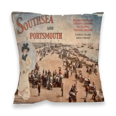 Southsea and Portsmouth Fibre Filled Cushion