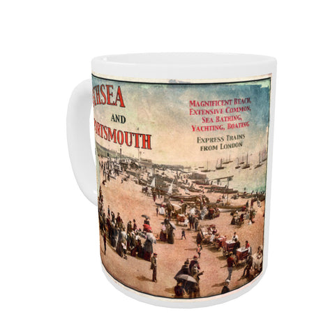 Southsea and Portsmouth Coloured Insert Mug