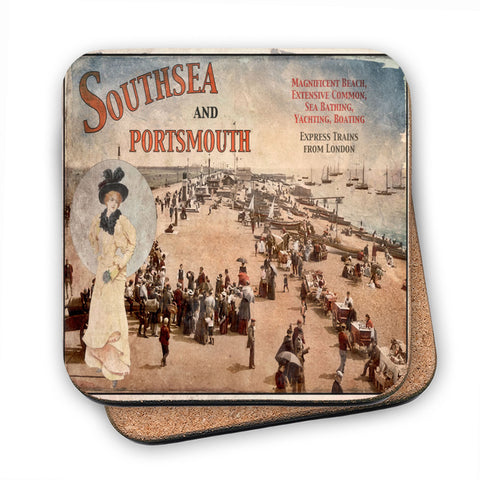 Southsea and Portsmouth MDF Coaster