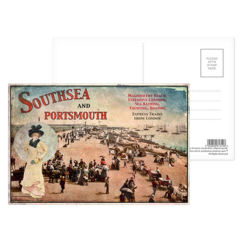 Southsea and Portsmouth Postcard Pack