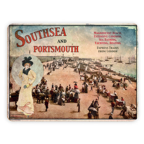Southsea and Portsmouth Placemat
