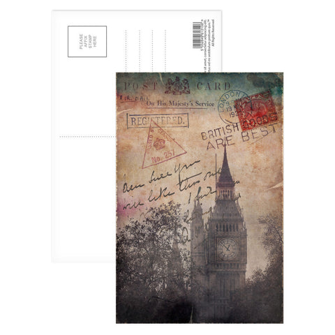 Big Ben, London Postcard Pack