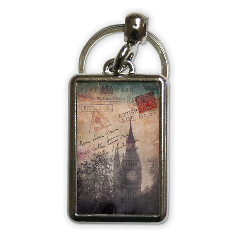 Big Ben, London Metal Keyring