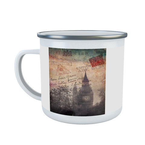 Big Ben, London Enamel Mug
