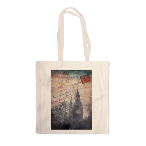 Big Ben, London Canvas Tote Bag