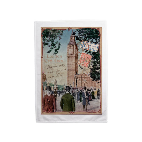 Big Ben, London Tea Towel