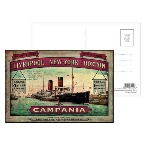 The Campania Postcard Pack