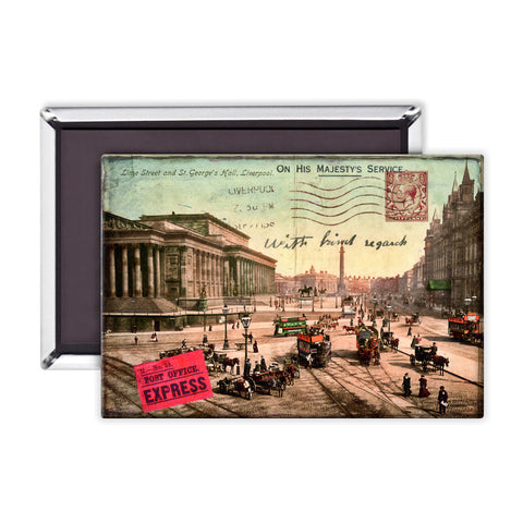 Lime Street and St Georges Hall, Liverpool Magnet