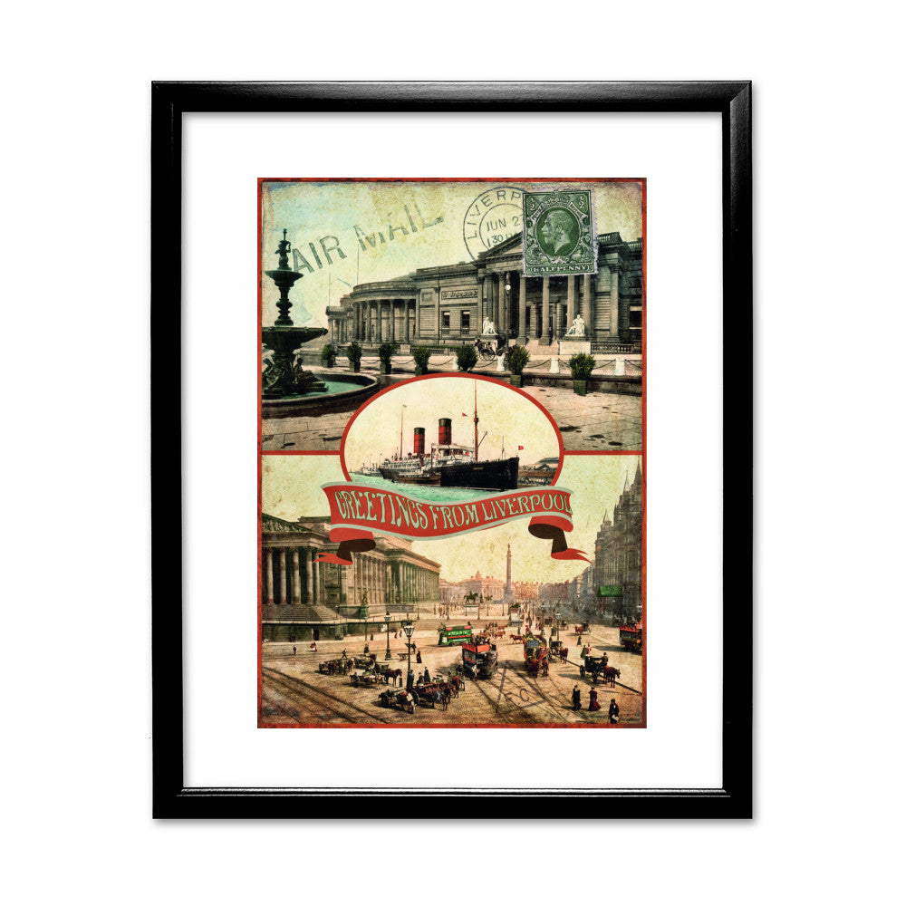 Liverpool Framed Print