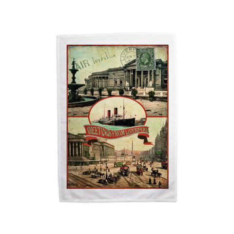 Liverpool Tea Towel
