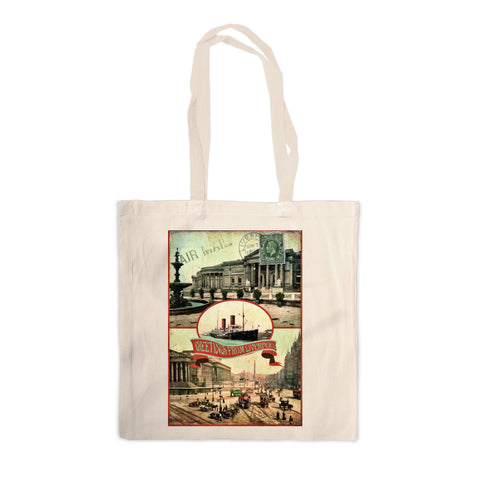 Liverpool Canvas Tote Bag