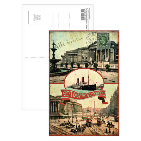 Liverpool Postcard Pack