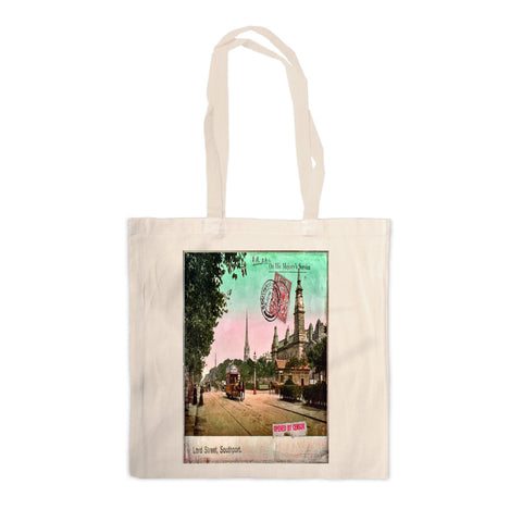 Lord Street, Southport, Lancashire Canvas Tote Bag