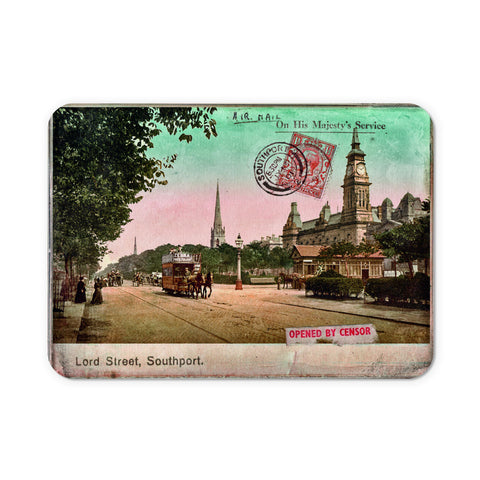 Lord Street, Southport, Lancashire Mouse Mat