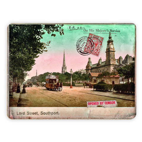 Lord Street, Southport, Lancashire Placemat
