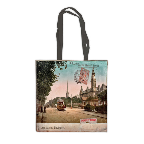 Lord Street, Southport, Lancashire Premium Tote Bag