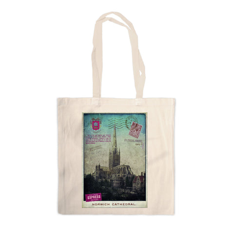 Norwich Cathedral Canvas Tote Bag