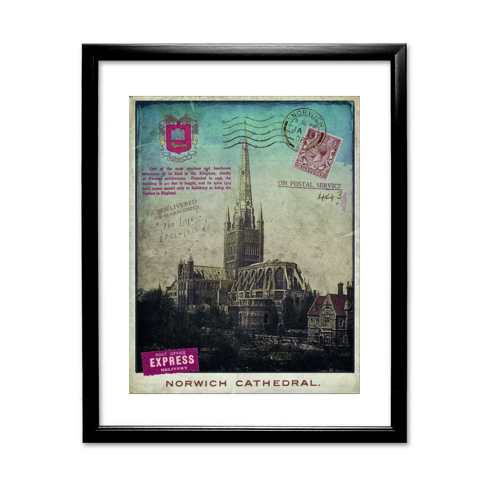 Norwich Cathedral Framed Print