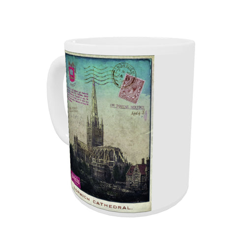 Norwich Cathedral Coloured Insert Mug