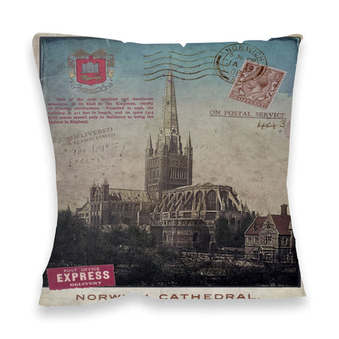 Norwich Cathedral Fibre Filled Cushion