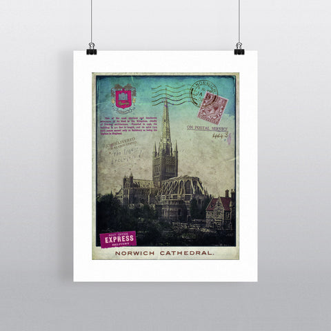 Norwich Cathedral Fine Art Print