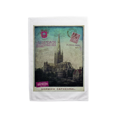 Norwich Cathedral Tea Towel