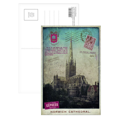 Norwich Cathedral Postcard Pack