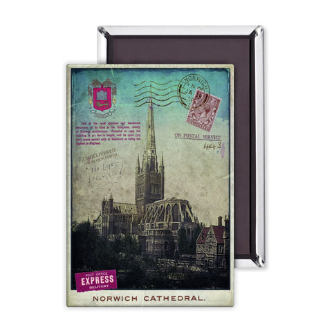 Norwich Cathedral Magnet